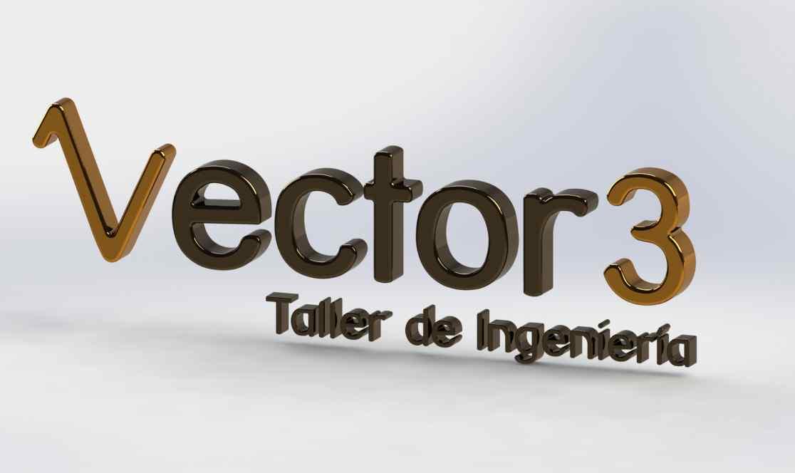 Vector3 3d logo