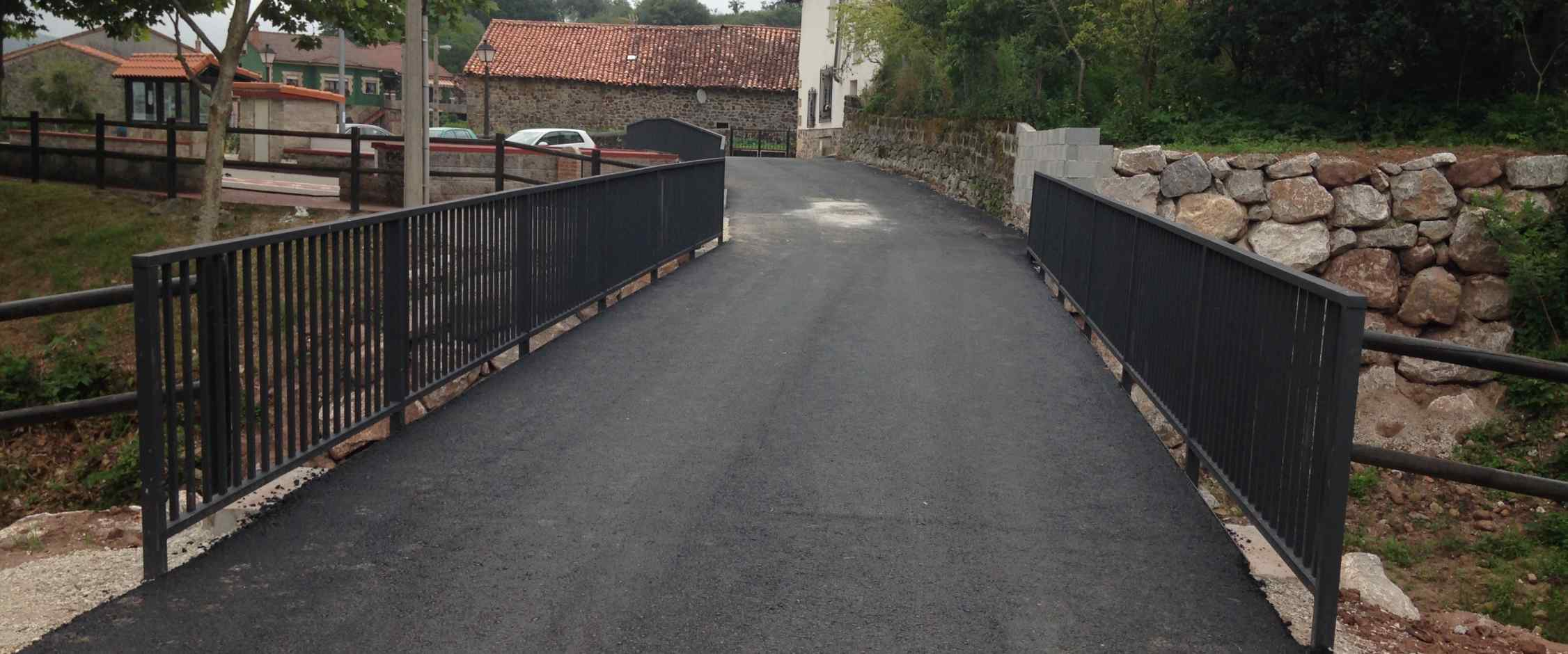 Puente finalizado
