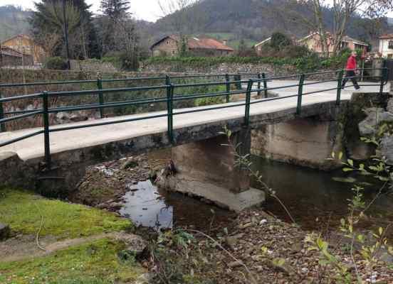 Puente existente a demoler