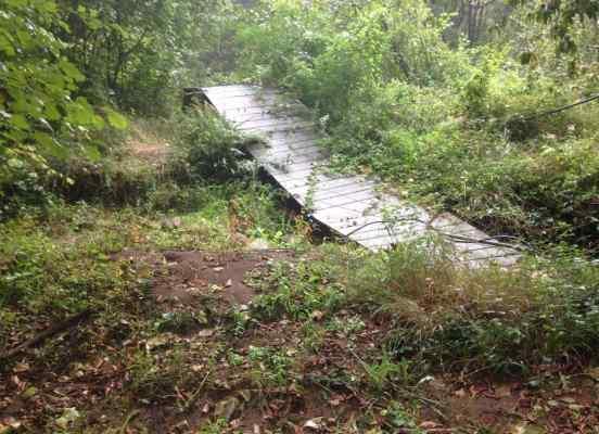 Estado del puente en su inspección